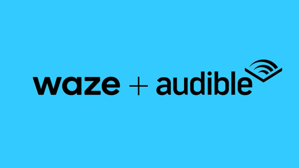 Waze und Audible©Waze / Audible