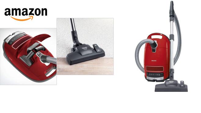 Gewinner Miele Complete C3 Red EcoLine SGSK3 aus dem Staubsauger-Test von Stiftung Warentest günstig bei Amazon kaufen©Amazon