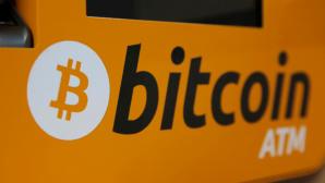 Bitcoin-Schriftzug©dpa-Bildfunk