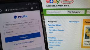 Ebay Kleinanzeigen und PayPal©COMPUTER BILD/ Janina Carlsen