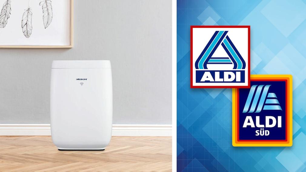 Luftreiniger im Aldi-Angebot: Medion günstig beim Discounter©Aldi, Medion