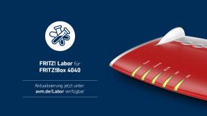 Fritz Labor f�r FritzBox 4040©AVM