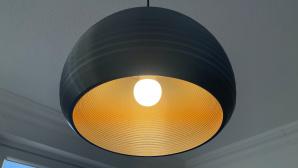 Philips MyCreation-Leuchte an der Decke©COMPUTERBILD