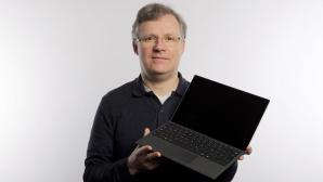 Microsoft Surface Pro 7+ SSD-Steckplatz©COMPUTER BILD