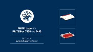 Fritz Labor f�r FritzBox 7530 und 7490©AVM