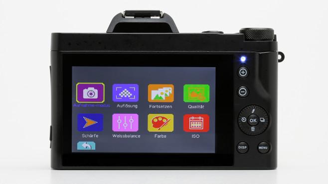 Aabeloy 4K Digitalkamera Menü©COMPUTER BILD