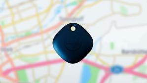SmartTag vor Karte©COMPUTER BILD/ Janina Carlsen