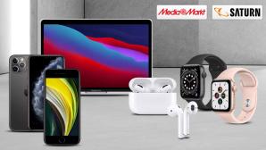 Reduzierte Apple-Produkte©Saturn, MediaMarkt, iStock.com/terng99