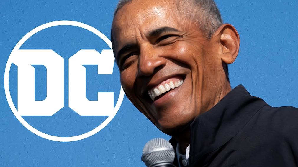Barack Obama und DC Comics©DC-Comics, Drew Angerer / Getty Images