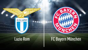 Champions League: Lazio Rom gegen Bayern München©Lazio Rom, FC Bayern München, iStock.com/efks