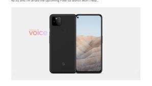 Google Pixel 5a©voice.com / Onleaks
