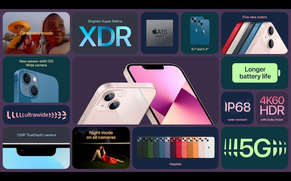 iPhone 13: Specs