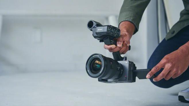Sony FX3 mit XLR-Griff©Sony