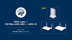Fritz Labor für FritzBox 6890, 6850 und 6820©AVM