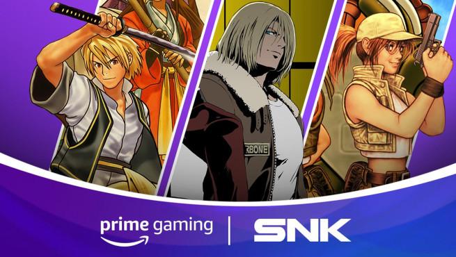 Amazon Prime Gaming SNK©Amazon