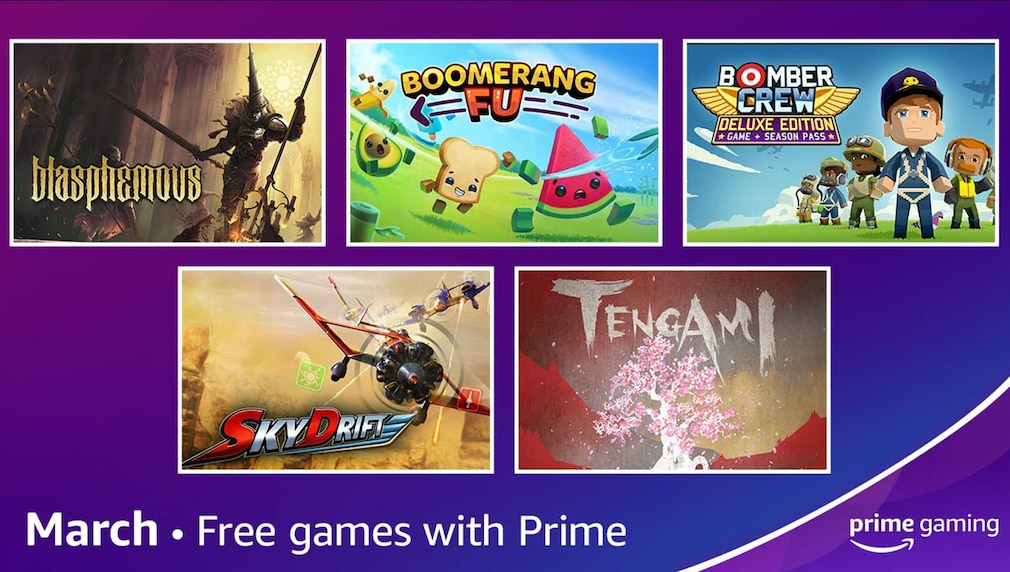 Amazon©Amazon Prime Gaming März 2021