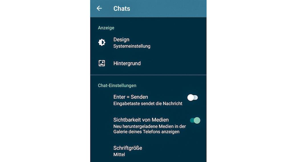 Whats App Daten sichern