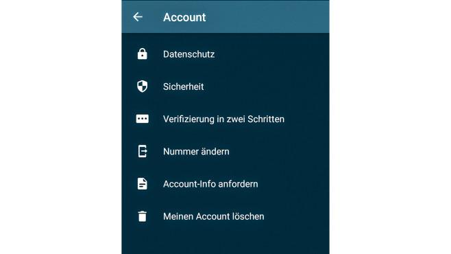 WhatsApp Account löschen©COMPUTER BILD / Janina Carlsen