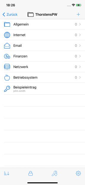 KeePassium (App für iPhone & iPad)