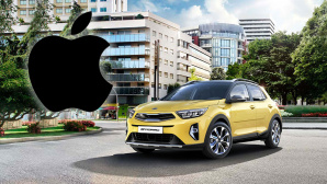 Apple und Kia © Apple / Kia (Fotomontage)