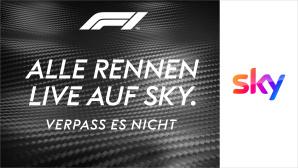 Mit Sky Q live und werbefrei die Formel 1 2021 verfolgen©Sky