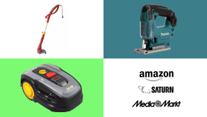 Amazon, Media Markt, Saturn: Top-Deals des Tages! © Amazon, Media Markt, Saturn, Makita, Wolf Garten, Landxcape