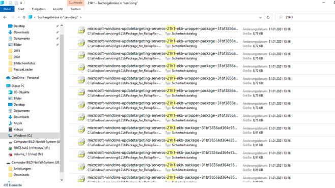 Windows-Suche©COMPUTER BILD