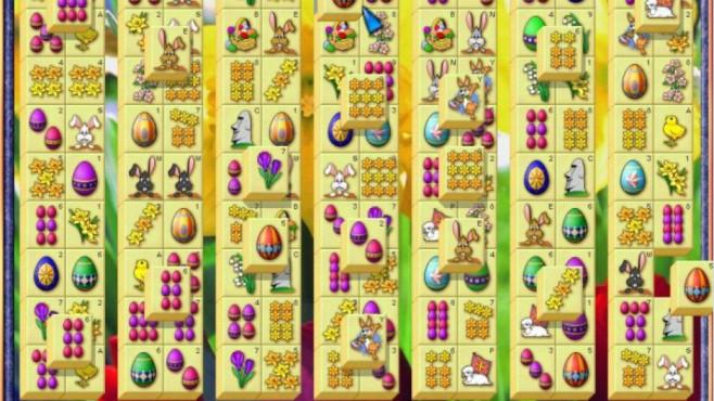 Die besten Gratis-Games zu Ostern Mahjongg macht auch in der Oster-Edition großen Spaß!©Gekko Software