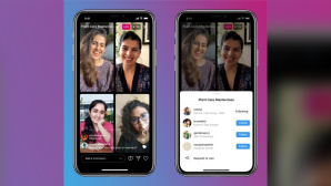 Bis zu vier Personen: Instagram startet Live Rooms©Instagram