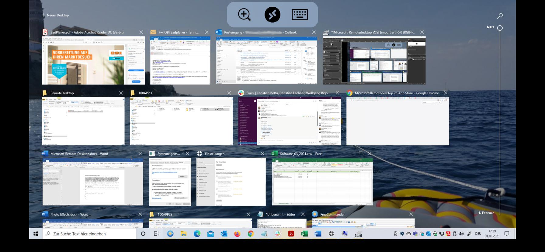 Screenshot 1 - Microsoft Remote Desktop (App für iPhone & iPad)