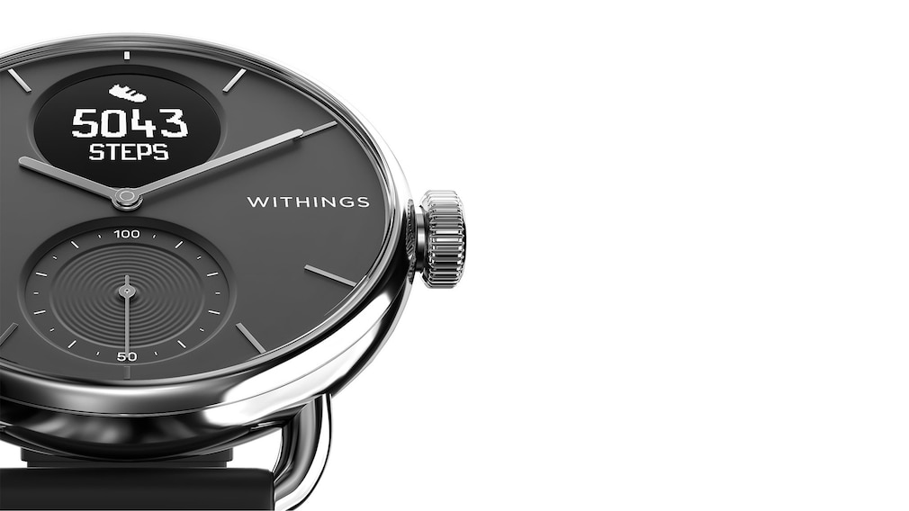 Withings ScanWatch mit Zusatzarmband bei tink©Withings