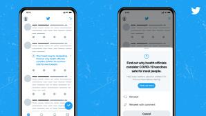 Corona: Twitter geht gegen Fake News zu Impfungen vor©Twitter
