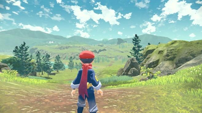 Ein Screenshot aus Pokémon Legends – Arceus©The Pokémon Company