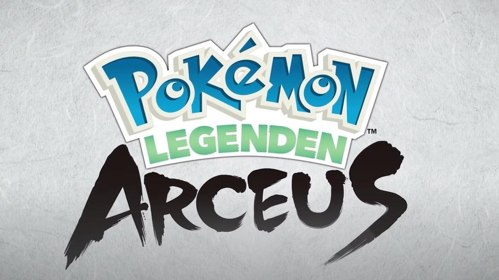 """Das Logo von """"Pokémon-Legenden – Arceus""""©The Pokémon Company"""