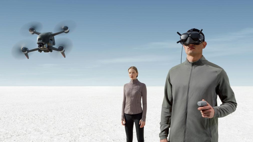 Drohne, Pilot und Spotter