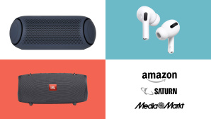 Amazon, Media Markt, Saturn: Top-Deals des Tages! © Amazon, Media Markt, Saturn, Apple, JBL, LG