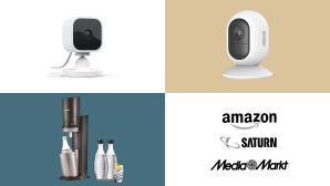 Amazon, Media Markt, Saturn: Top-Deals des Tages! © Amazon, Media Markt, Saturn, Blink, Yi Technology, Sodastream