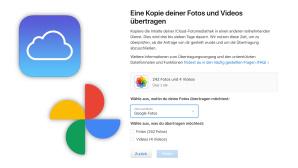 Backup: Apple ermöglicht Transfer von iCloud zu Google Fotos©Apple, Google