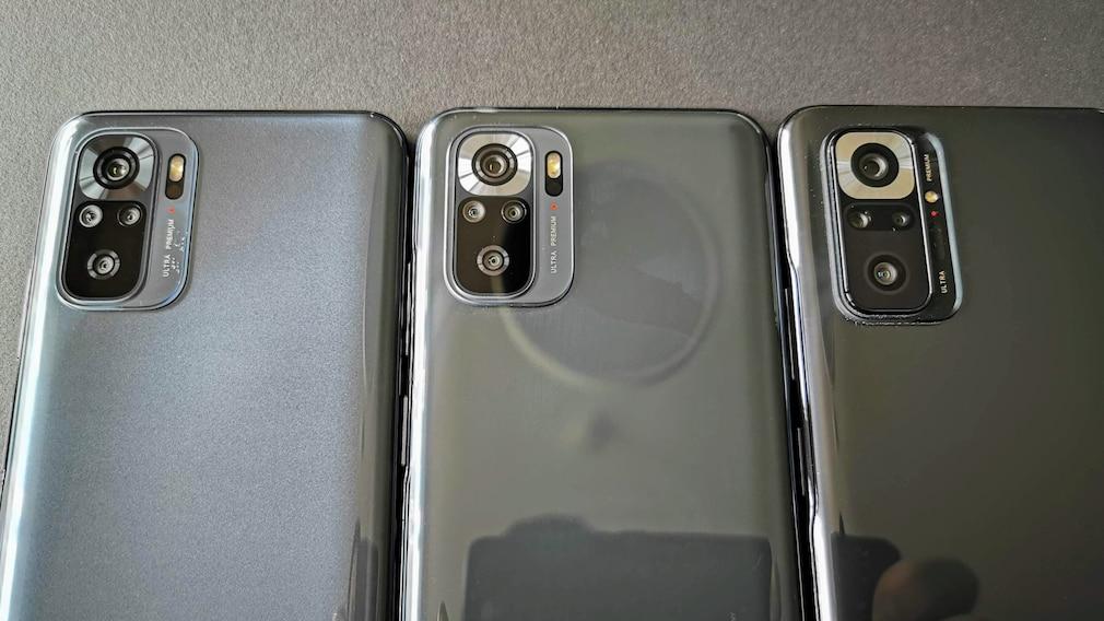 Redmi Note 10, Redmi Note 10S, Redmi Note 10 Pro