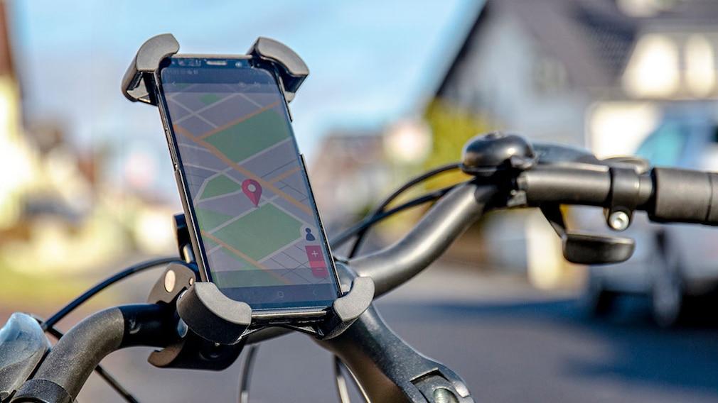 neue Halterung One Click Easy Drive & Ride Set am Fahrradlenker©InLines