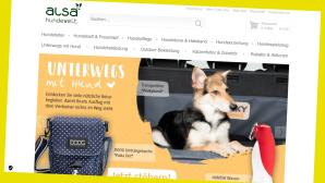 Alles für den Hund bei Alsa-Hundewelt online günstiger bestellen©Screenshot www.alsa-hundewelt.de