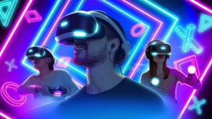 Spieler mit VR-Brille©Sony