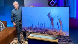 Xiaomi Mi TV Q1 im Test: Der 75-Zoll-Fernseher ist riesig und brilliert mit hochwertiger Bildschirmtechnik.©COMPUTER BILD