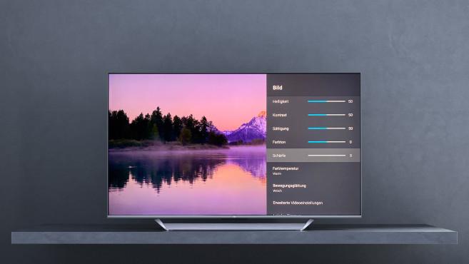 Mi TV Q1 im Test: Xiaomi bläst zum Groß-Angriff! Der Xiaomi Mi TV Q1 zeigte im Test die beste Bildqualität im Film-Modus, die Schärfe sollte da auf 0 reduziert werden.©Xiaomi, COMPUTER BILD