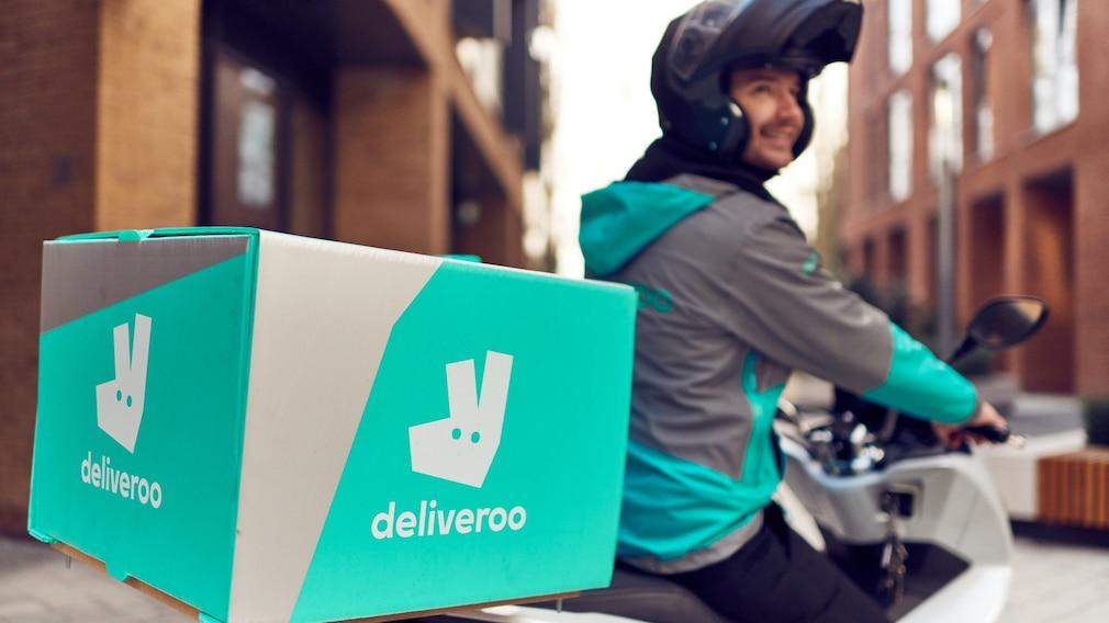 Deliveroo-Kurierfahrer©Deliveroo