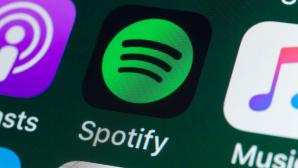 Die Spotify-App auf einem iPhone©iStock.com/stockcam