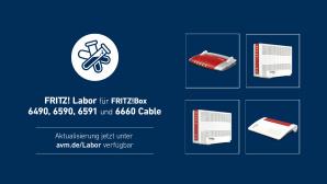 Fritz Labor für FritzBox 6660, 6591, 6590 und 6490©AVM