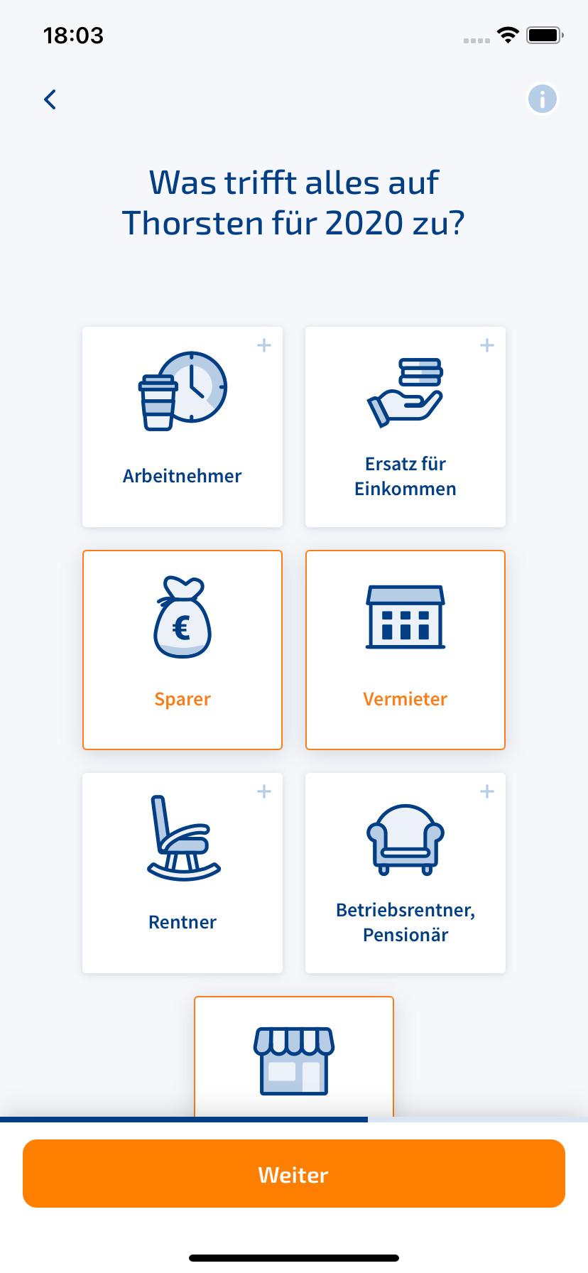 WISO Steuer (iPhone-App) 2.04.2.1269 - Download - COMPUTER ...