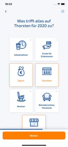 WISO Steuer (iPhone-App)