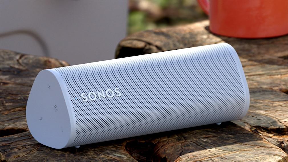 Der Sonos Roam ist der bislang kompakteste Lautsprecher des Herstellers.©Sonos